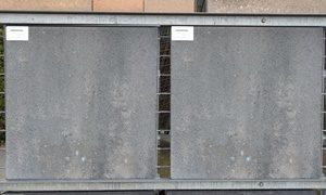 Betontegel Zwart 60x60.A17 Betontegels 60x60x5 Grijs Zwart Jan Jansen Grondwerken