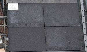 A7. Betontegels 20x30x4,7 antraciet
