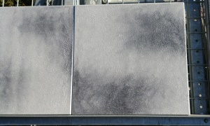 Betontegel 50x50 grijszwart gecoat