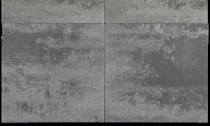 A20. Betontegels 80x80x4 grijs genuanceerd